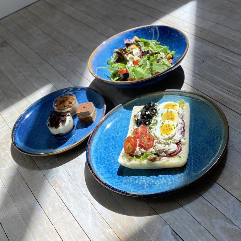 Lunch Box, Salade, Sandwich