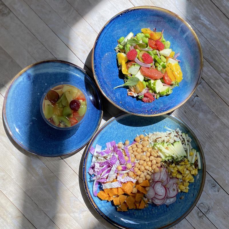 livraison de plateau repas entreprise végétarien à Lille